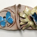 Self as Center of life / Self as Participant in life, Healing  from Shame, ceramic sulpture for wall